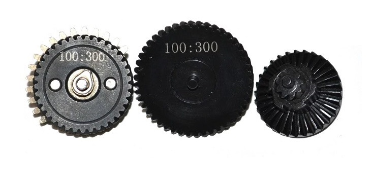 Набор шестерён 3mm Integrated Steel CNC Gear Set 100:300 ZCCL-19 (ZC)