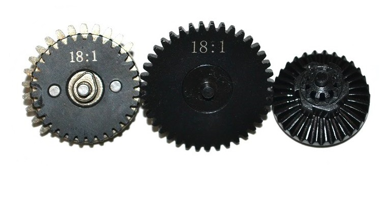 Набор шестерён 3mm Integrated Steel CNC Gear Set 18:1 ZCCL-16 (ZC)
